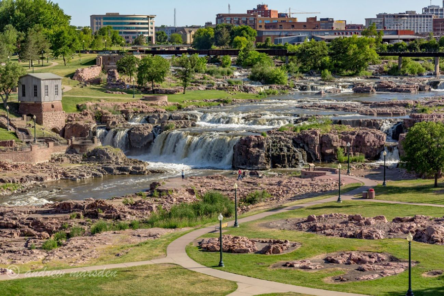 Summertime in Sioux Falls